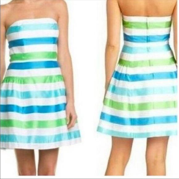 Lilly Pulitzer Jordan strapless dress size 0